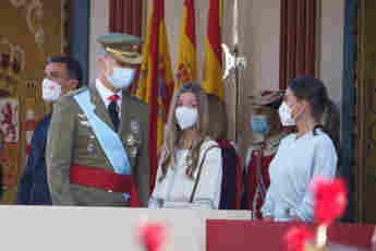 König Felipe, Königin Letizia und Prinzessin Sofia