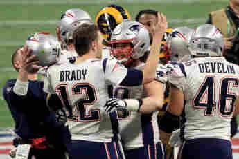 Beim 53. Super Bowl der National Football League in Atlanta sicherten sich die New England Patriots den Sieg
