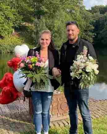 Sylvana Wollny und Florian Köster wollnys hochzeit