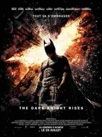 """The Dark Knight Rises""-Filmplakat"