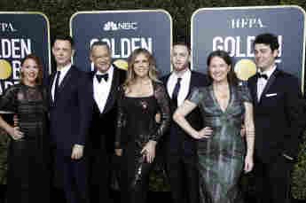 Tom Hanks Familie Golden Globes Samantha Bryant Colin Hanks Rita Wilson Chet Hanks Elizabeth Ann Hanks Truman Theodore Hanks