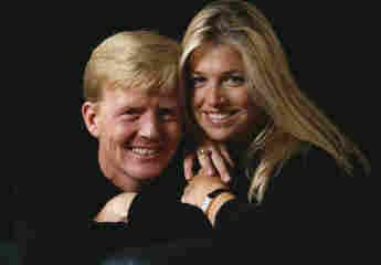 König Willem-Alexander und Königin Maxima 2001