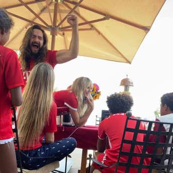 Tom Kaulitz, Heidi Klum und ihre Kinder