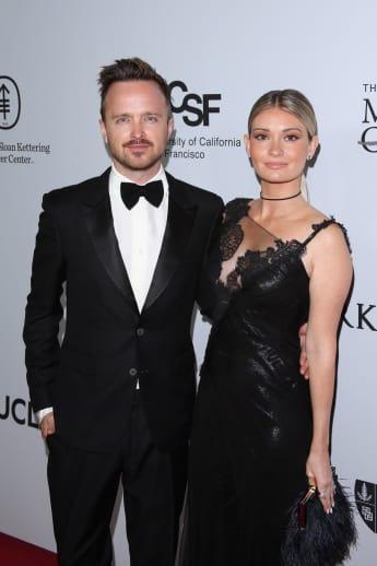 Aaron Paul und Lauren Parsekian sind seit 2013 verheiratet