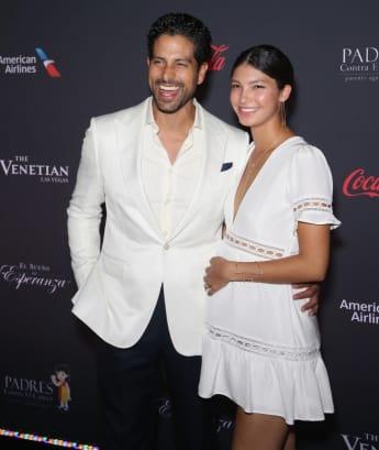 Adam Rodriguez und seine schöne Frau Grace Gail