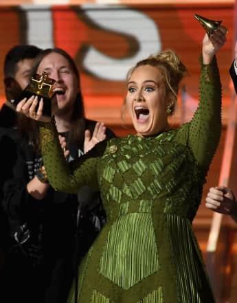 Adele teilte ihren Grammy wortwörtlich mit Beyoncé