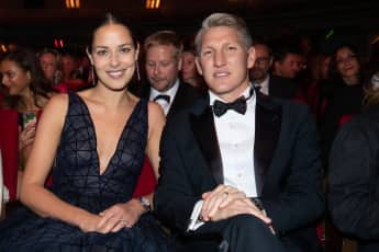 Ana Ivanovic & Bastian Schweinsteiger beim GQ Men of the Year Award 2018
