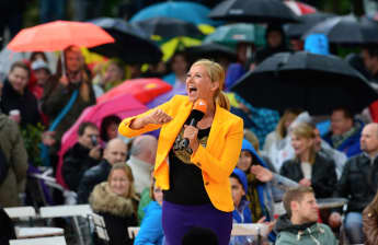 Der ZDF-Fernsehgarten mit Andrea Kiewel bekommt ab dem 8. Mai 2016 eine neue Sendezeit