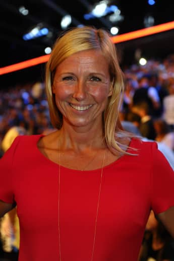 """Fernsehgarten""- Moderatorin Andrea Kiewel"