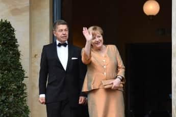 Angela Merkel und Joachim Sauer bei den Bayreuther Festspielen 2017