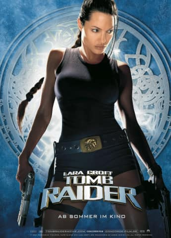 "Angelina Jolie als ""Lara Croft"""