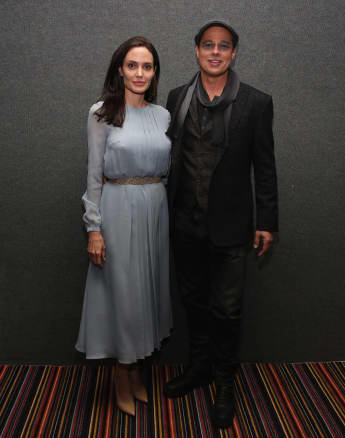 """Angelina Jolie und Brad Pitt beim Screening von """"By The Sea"""""""
