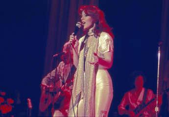 Anni-Frid Lyngstad im Jahr 1977