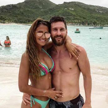 Antonella Roccuzzo Lionel Messi