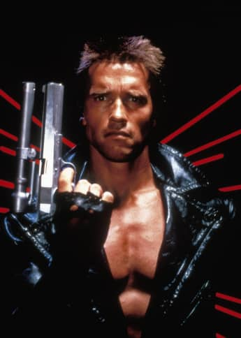 Arnold Schwarzenegger 'The Terminator' 1984