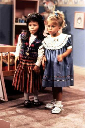 "Ashley und Mary-Kate Olsen in ""Full House"""