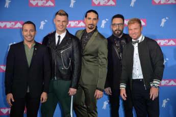 """Die """"Backstreet Boys"""" bei den MTV VMA's 2018"""