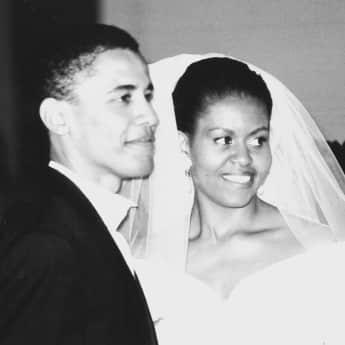 Barack Obama Michelle Obama Hochzeit