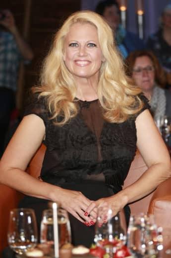 Barbara Schöneberger in einer NDR Talkshow