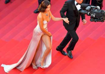 Model Bella Hadid in Cannes