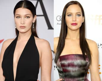 Promi-Zwillinge: Bella Hadid und Jennifer Lawrence