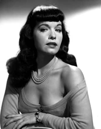 Das Pin-up-Model Bettie Page