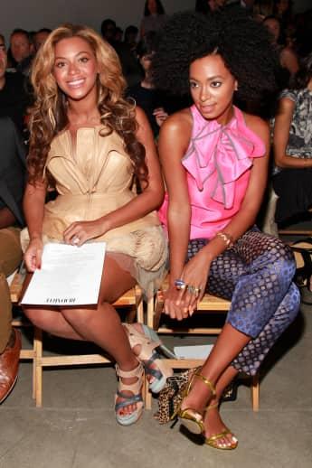Beyoncé und Solange Knowles