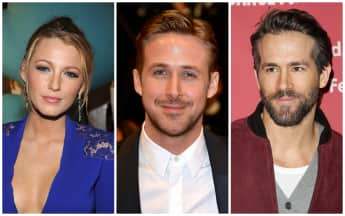 Blake Lively mit Flirt Ryan Gosling und Mann Ryan Reynolds