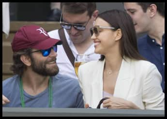 Bradley Cooper Irina Shayk verliebt in Wimbledon