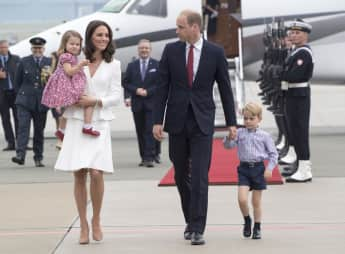 Kate, William, Charlotte and George