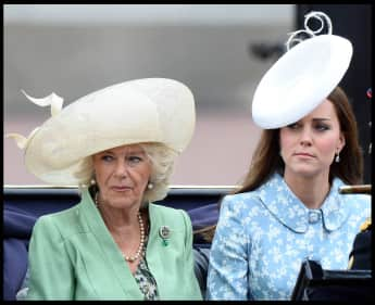 Camilla Parker-Bowles and Kate Middleton