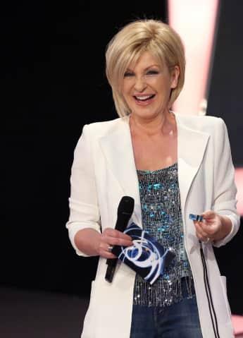 "Carmen Nebel moderiert ""Willkommen bei Carmen Nebel"" auf dem ZDF"