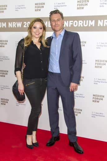 Sie haben am 30. Mai 2015 geheiratet: Caroline Frier und ihr Ehemann Dirk Borchardt