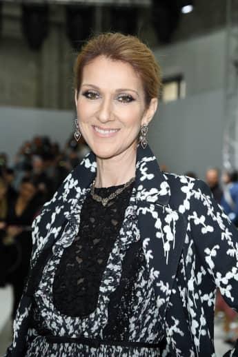 Celine Dion strahlend schön in Paris