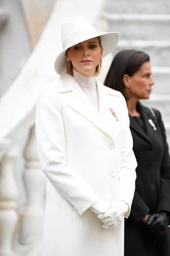 Charlène von Monaco Nationalfeiertag