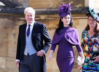 Charles und Karen Spencer bei der royalen Trauung von Prinz Harry und Meghan Markle im Mai 2018