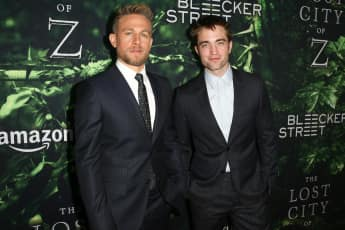 Charlie Hunnam und Robert Pattinson