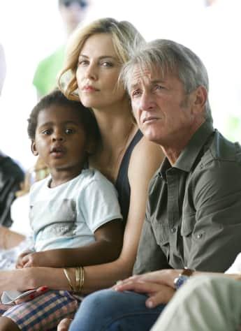Charlize Theron und Sean Penn, Block Party
