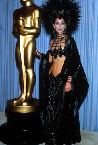 Cher bei den Oscars 1986