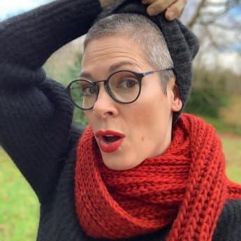 Cheryl Shepard trägt jetzt die Haare raspelkurz