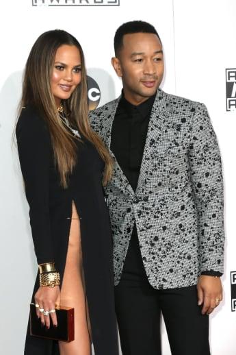 Chrissy Teigen und John Legend bei den American Music Awards