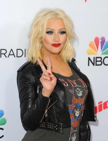 Christina Aguilera mit Kurzhaar-Frisur