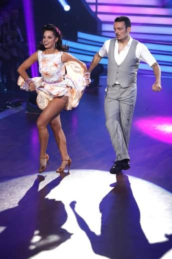 """Christina Luft und Giovanni Zarrella bei """"Let's Dance 2017"""""""