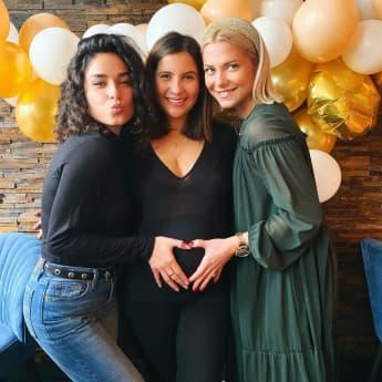 Chryssanthi Kavazi ist schwanger