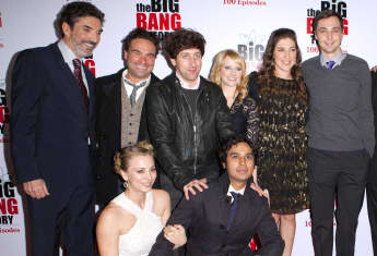 The Big Bang Theory Cast Produzent Chuck Lorre