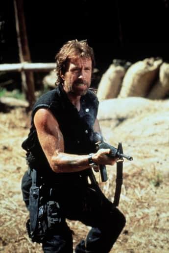 Chuck Norris als Actionheld der 80er/90er