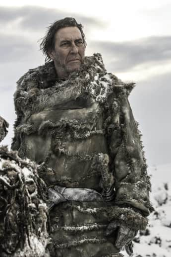 "Ciaran Hinds als der Wildlingskönig ""Mance Rayder"" in ""Game of Thrones"""