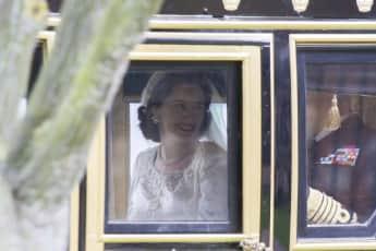 """Claire Foy spielt in der """"Netflix""""-Serie """"The Crown"""" die junge Königin Elisabeth II."""