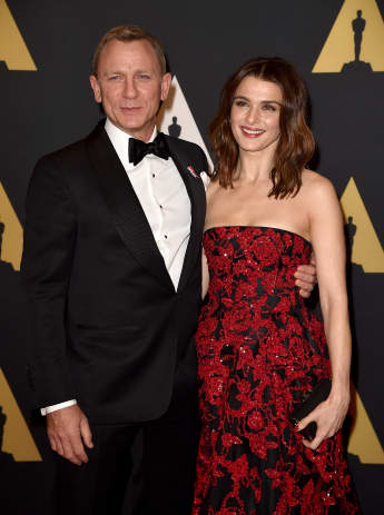 Daniel Craig und Rachel Weisz zeigen sich so verliebt auf dem roten Teppich