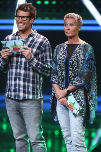 Daniel Hartwich und Sonja Zietlow beim Sommer-Dschungelcamp